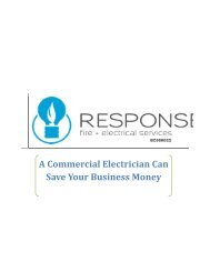 A Commercial Electrician Can Save Your Business Money