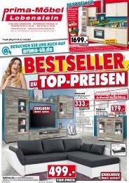Bestseller zu TOP-Preisen bei prima Möbel, 07356 Bad Lobenstein