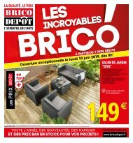 Brico Depot 7 juin-20 juin 2019