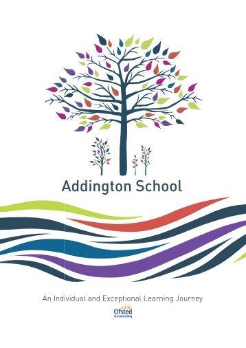 Addington School Prospectus