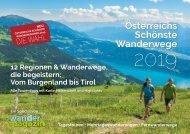 Österreichs Schönste Wanderwege 2019