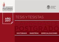 Tesis y Tesistas 2017 - Postgrado - Facultad de Informática - UNLP