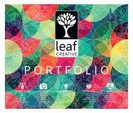 Leaf Creative Portfolio Jan 2019 - Complete
