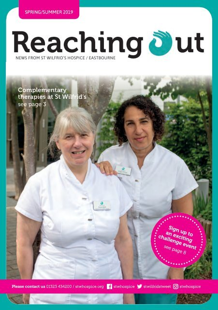 St Wilfrid's Hospice - Reaching Out - Spring Summer 2019