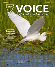 The Voice of Southwest Louisiana June 2019 Issue