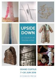 Dossier de presse - Exposition Upside Down Collectif AFI