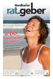 Nordkurier Ratgeber Mit 66 Jahren (Ausgabe MSP)