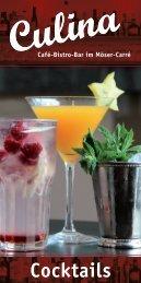 Culina Cocktails