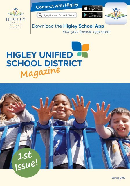 Higley Unified School District Magazine