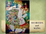 Ayurveda and Aging