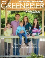 Greenbrier Neighbors June 2019