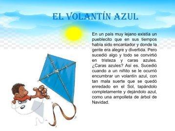 EL VOLANTÍN AZUL