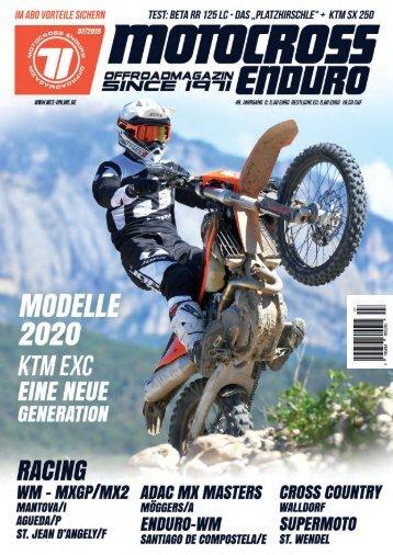 Motocross Enduro Ausgabe 07/2019