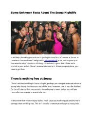 Some Unknown Facts About The Sosua Nightlife