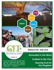 GIT Newsletter [1905] - May 2019