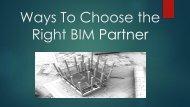 ways to choose right BIM partner-converted