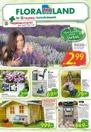 Floraland Hagebaumarkt KW 23