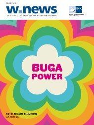 BUGA – GARTEN, GASTRO & GEWERBE| w.news 06.2019