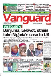 06062019 - NSECURITY: Danjuma, Lekwot, others take Nigeria's case to UK