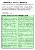 Brochure sur les armements du maintien de l'ordre - Page 4