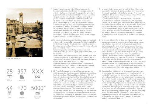 Scolaro Design Katalog 2019