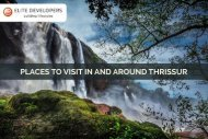 Places to visit in and around Thrissur | Elite Developers