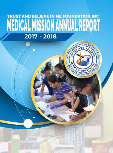 TBIMF Medical Mission Annual Report 2017 - 2018