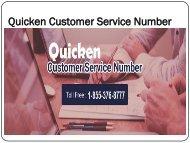 Quicken Customer Service  Number 1-855-376-8777