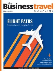 The Business Travel Magazine June/July 2019