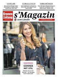 s'Magazin usm Ländle, 9. Juni 2019