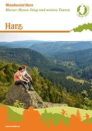 Wanderziel Harz - Harzer-Hexen-Stieg und weitere Touren 2019/2020