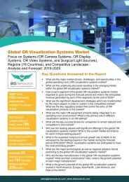 OR Visualization Systems Market Report