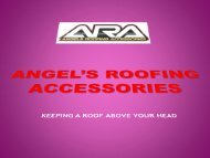 Colourbond Roofing Sydney | Angel's Roofing Accessories