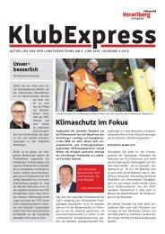 Klubexpress Juni 2019