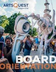 ArtsQuest Board Orientation