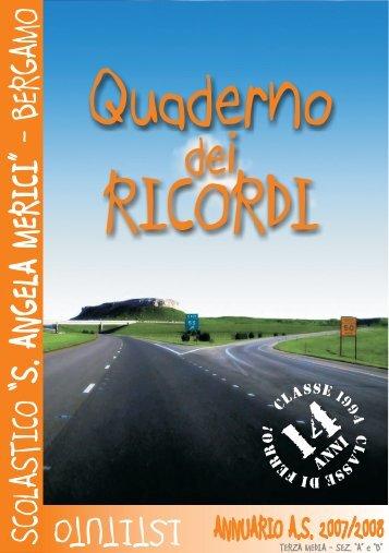 Annuario scolastico 2007-2008