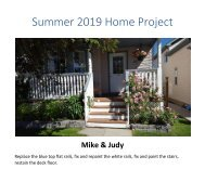 2019 Deck Project