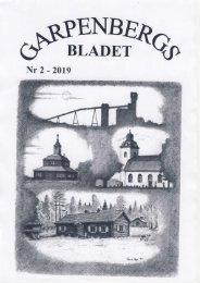 Garpenbergsbladet Nr 2-2019