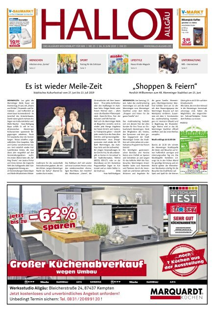 Hallo-Allgäu Memmingen vom Samstag, 08.Juni