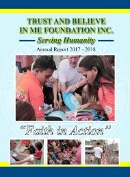 TBIMF Annual Report 2017- 2018