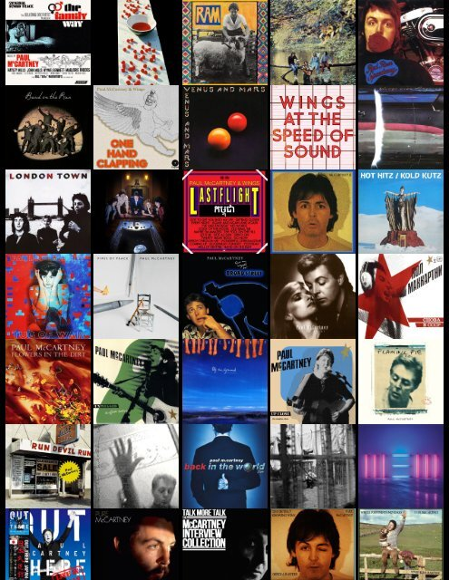 mccartney ultimate archive collection