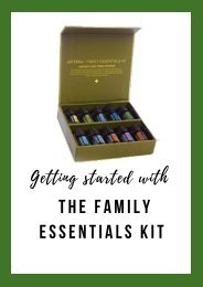 Getting started with the Family essentials kit PDF