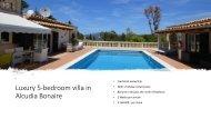 Villa Mallorca Bonaire Fractional Ownership