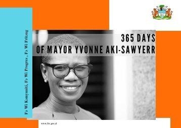 365 Days of Mayor Yvonne Aki-Sawyerr