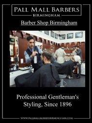 Barber shop Birmingham   Call 01217941693   pallmallbarbersbirmingham.com