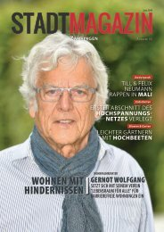 Stadt-Magazin, Ausgabe Zähringen (Juni 2019)
