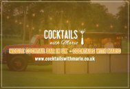 Now get Mobile Cocktail Bar from Cocktails with Mario