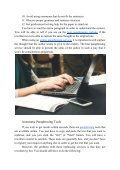 12 Tips for Using Paraphrasing Service - Page 3