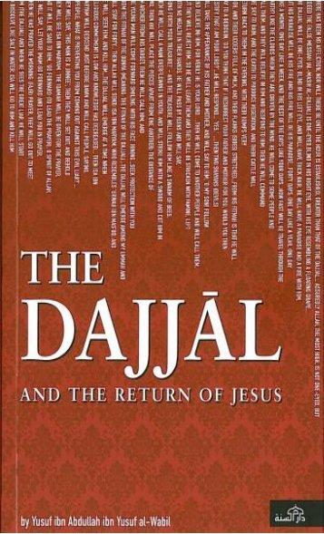 The Dajjal And The Return of Jesus_ Yusuf Ibn Abdullah Ibn Yusuf Al Wabil