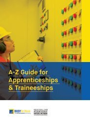 A-Z Guide for Apprentices and Trainees